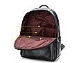 Рюкзак чоловічий шкіряний Feidika Bolo Style Чорний, фото 4