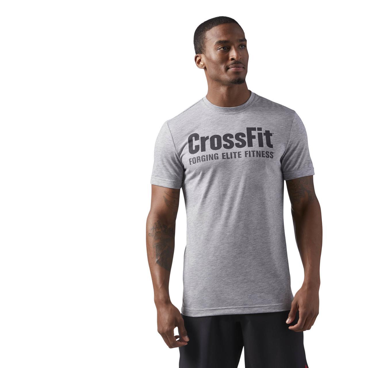 Купить Мужская футболка Reebok Crossfit Activchill Graphic (Артикул ... 2ce621d3dc297