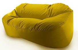 Бескаркасный диван. Микро-рогожка 90*120*175 см. С дополнительным чехлом