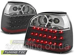 Задние фонари VW GOLF 3 09.91-08.97 BLACK LED