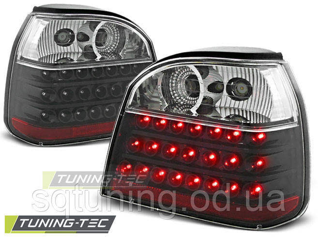 Задние фонари VW GOLF 4 CABRIO BLACK LED