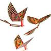 Летающая птица Орнитоптер