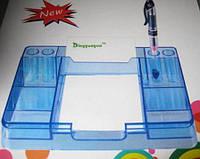 Подставка пластиковая прозрачная DG-3019