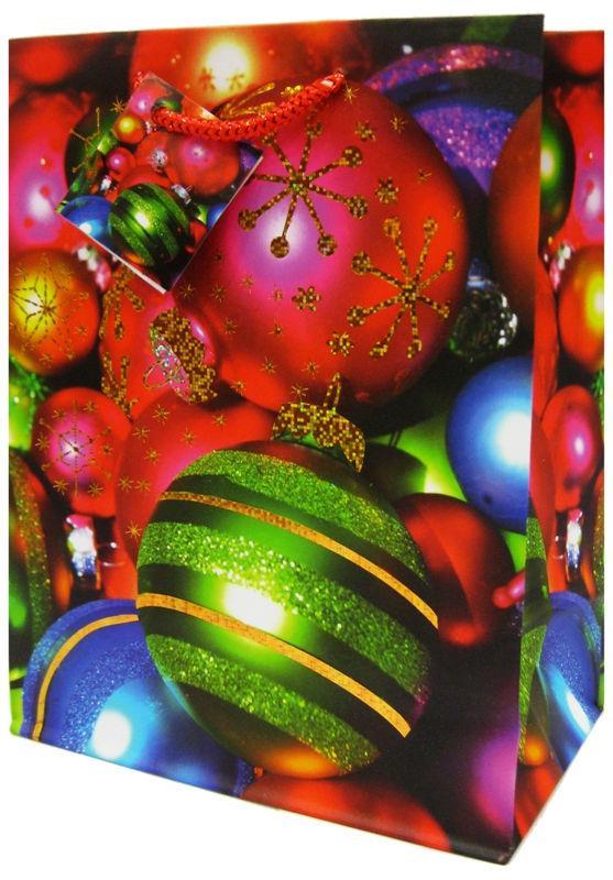 Пакет подарочный бумажный Tukzar 23*18*10см Tz-9577 Новогодний