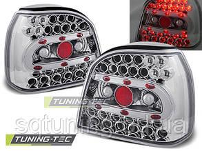 Задние фонари VW GOLF 3 09.91-08.97 CHROME LED