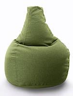 Велике крісло-мішок, груша Мікро-рогожка 90*130 див. З додатковим чохлом, фото 1