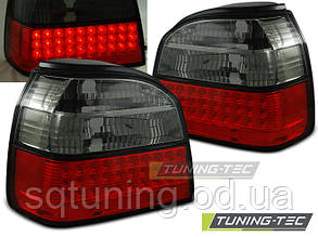 Задние фонари VW GOLF 3 09.91-08.97 RED SMOKE LED
