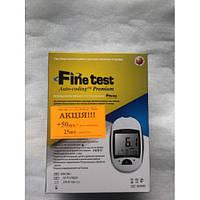 """Глюкометр """"FineTest Auto-Coding Premium"""" стартовый комплект (50 тест-полосок, 25 ланцетов)"""