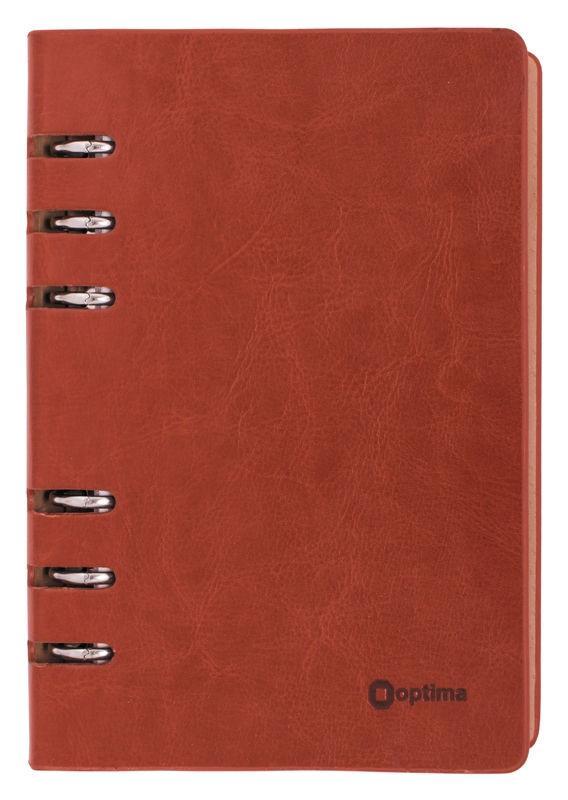 Органайзер со сменным блоком 135*185 OPTIMA Cabinet коричневый O27130
