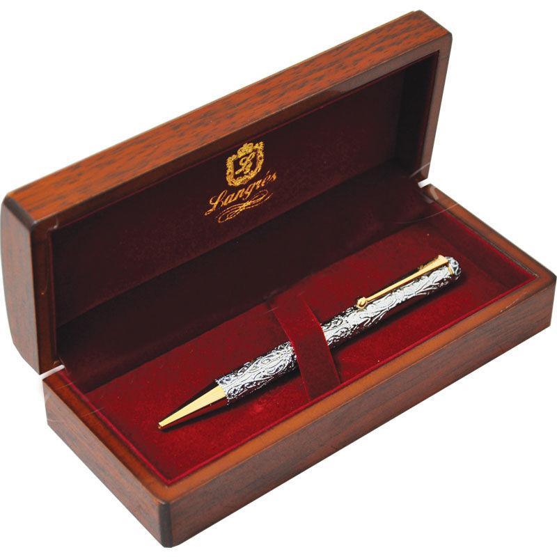 Ручка шариковая Langres Fabulous LS.404030-40 с кристаллами, хром