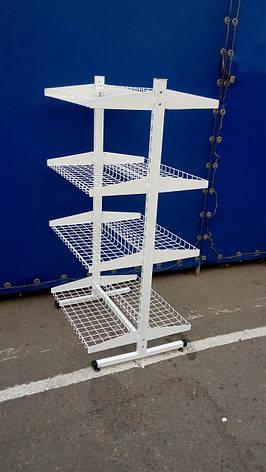 Стойка-корзина двухсторонняя , фото 2