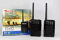 Радио RX D3 + рация  В комплекте 2 штуки!!!   28