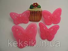 Пэчворк Бабочки 4шт