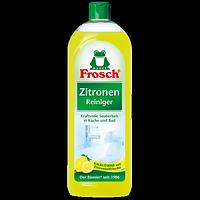 Фрош - натуральное очищающее средство для всех видов поверхностей  Frosch Universal Reiniger Zitronen 1000 мл
