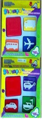 Набор для творчества XM-Toys Штампики-3 SE096513
