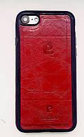 Кожаный чехол Pierre Cardin iPhone 8