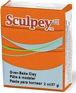 Глина полимерная Sculpey III Кирпичная 57г 033