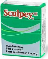 Глина полимерная Sculpey III Изумрудная 57г 323