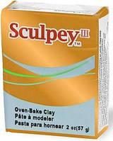 Глина полимерная Sculpey III Золото 57г 1086