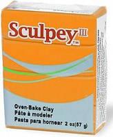 Глина полимерная Sculpey III Оранжевая 57г 1634