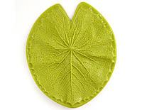 Молд Margo 15*13см лист водяной Лилии 5005507