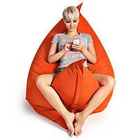 Кресло-мешок, кресло-мат, подушка.  Микро-рогожка 125*140см. С дополнительным чехлом, фото 1