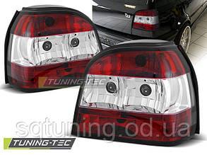 Задние фонари VW GOLF 3 09.91-08.97 RED WHITE