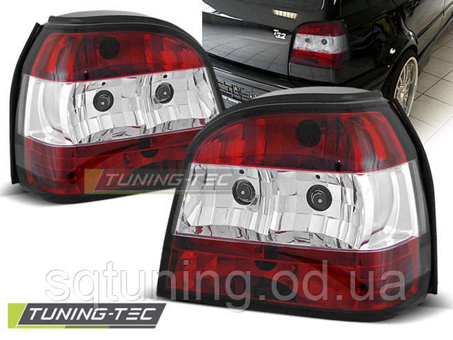 Задние фонари VW GOLF 4 CABRIO RED WHITE