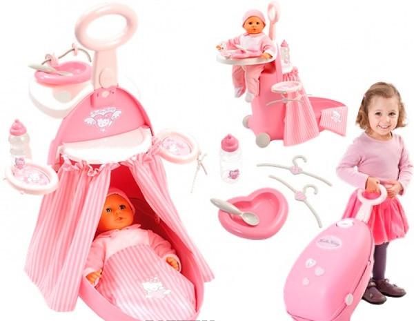 Набор для ухода за куклой Baby Nurse в чемоданчикe