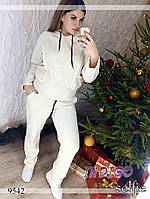 """Спортивный костюм женский теплый больших размеров """"RC"""""""