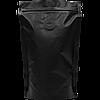Пакет дой-пак Черный с zip замком и дегазирующим клапаном140*240 (40+40)