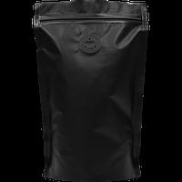 Пакет Дой-пак  с zip замком и дегазирующим клапаном 100 г Черный 130х200 (32+32)