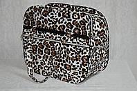 Сумка-переноска для котов собак Сильвер леопард
