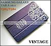 Ультратонкий синий чехол книжка TFC Vintage для Samsung galaxy Tab A 10.1 SM-T585 SM-T580 с прочной обложкой