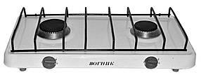 2-комфорочная плита Вогник, белая