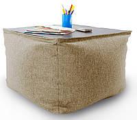 Бескаркасный столик в ткане Микро-рогожка 45см., фото 1