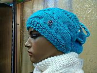 Шапка-хомут на флисе Cessille TM Loman, цвет бирюзовый, фото 1