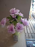 Китайская роза 9 бутонов высота 42 см