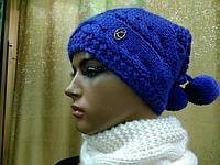 Шапка-хомут на флисе Cessille TM Loman, цвет синий, фото 1