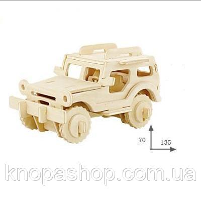 Деревянный 3D пазл . Транспорт.