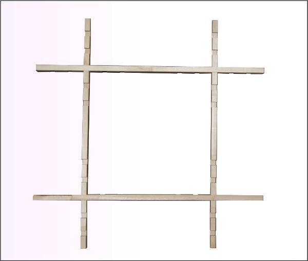 Рамка для росписи ткани ALBERO 65*65см, складывающаяся