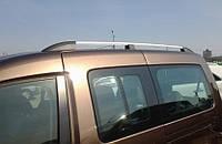 Рейлинги Volkswagen Caddy 2004-, Skyline, хром, алюминий