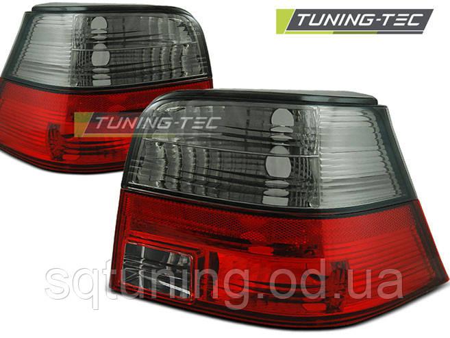 Задние фонари VW GOLF 4 09.97-09.03 RED SMOKE