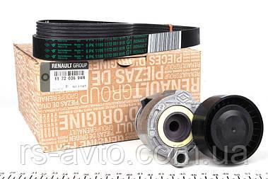 Комплект ремня генератора GRAND SCENIC II \ MEGANE II \ Kangoo 1.5dCi 08- 117203694R