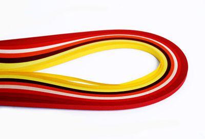Набор для квиллинга №38 Margo Мак, 8 цв., 0,5см, дл. 50см, 130г/м2