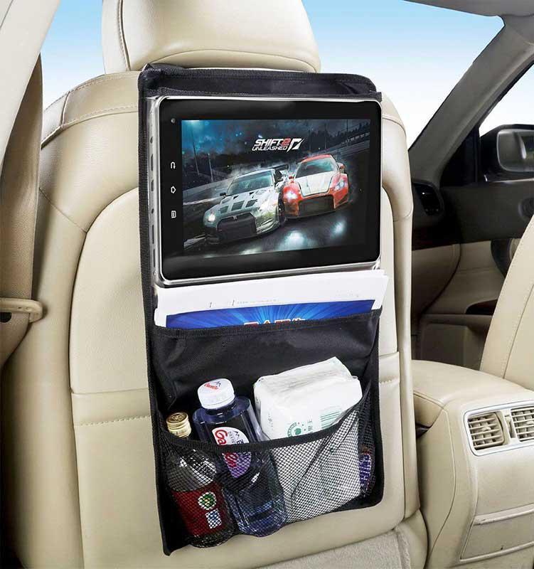 Органайзер на спинку сиденья, автомобильный органайзер, Car Back Tablet Organizer