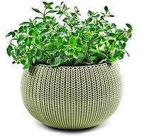 Кашпо 36 см Cozies M, зеленый