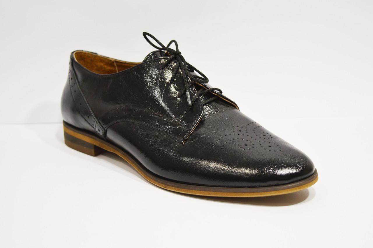 Туфли женские кожаные Kento 10645