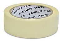 Скотч бумажный (малярный) малярный 25мм 20м Favorit 10-011