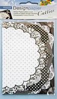 Набор бумаги для скрапбукинга Классика 10*15 18л Folia 16211101